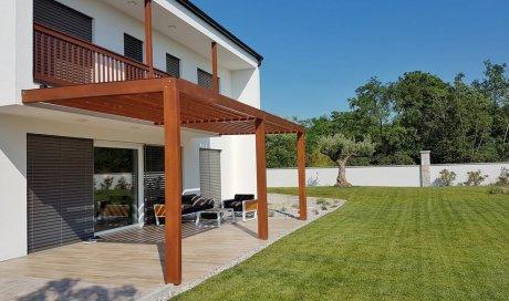 Entreprise professionnelle pour la création d'une terrasse